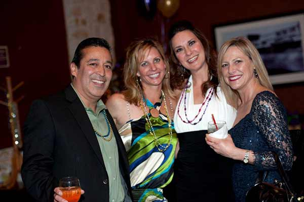 images from the 2012 ATHENA Mardi Gras Gala